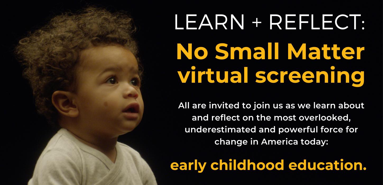 No Small Matter virtual screening