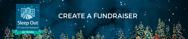 Create a Sleep Out fundraiser